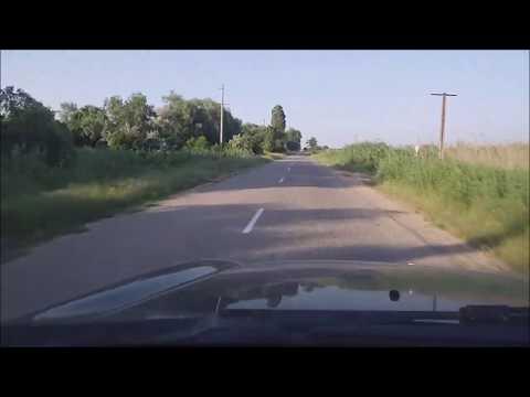 Дорога Анапа Темрюк Темрючанка Азовское море.