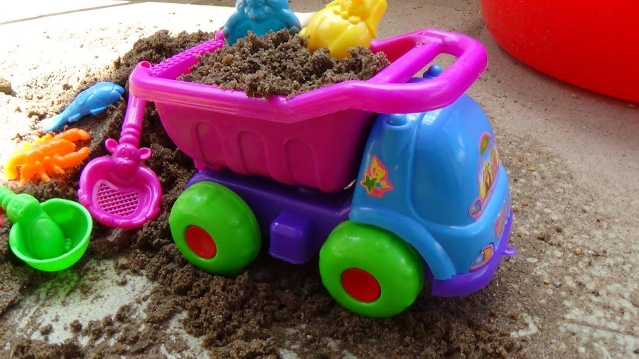 Car toy play set Xe ô tô đồ chơi cát – Kid Studio