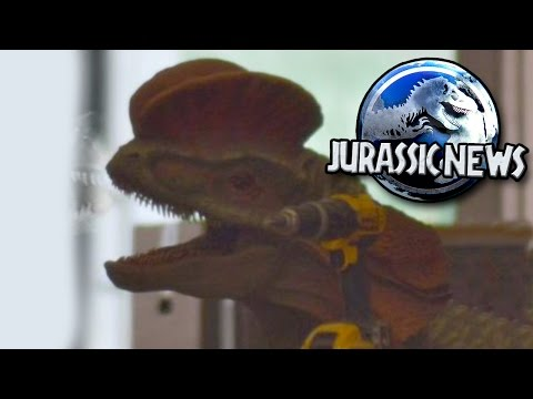 Jurassic News - *Spoilers* New Dinosaurs + Footage || Jurassic World 2 News Update
