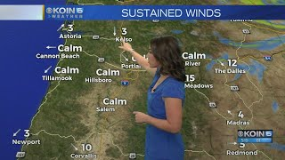 Monday Morning Weather Update August 20, 2018