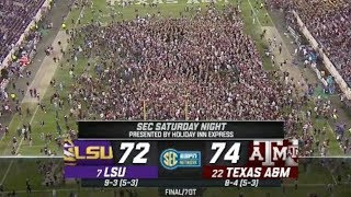 HIGHEST Scoring Game in CFB HISTORY! 💯 Texas A&M vs. LSU Highlights