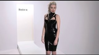 Honour Latex Rubber Liberty Top and Pencil Skirt Thumbnail