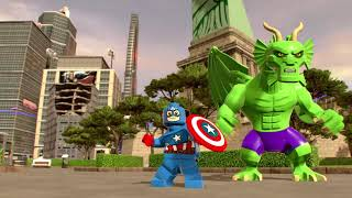 lego marvel super heroes 2 moves - lego marvel super heroes - all big-fig special moves (ps4)