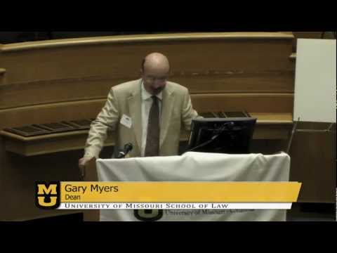 Introduction: Dean Gary Myers - Law Day Awards Ceremony 2012