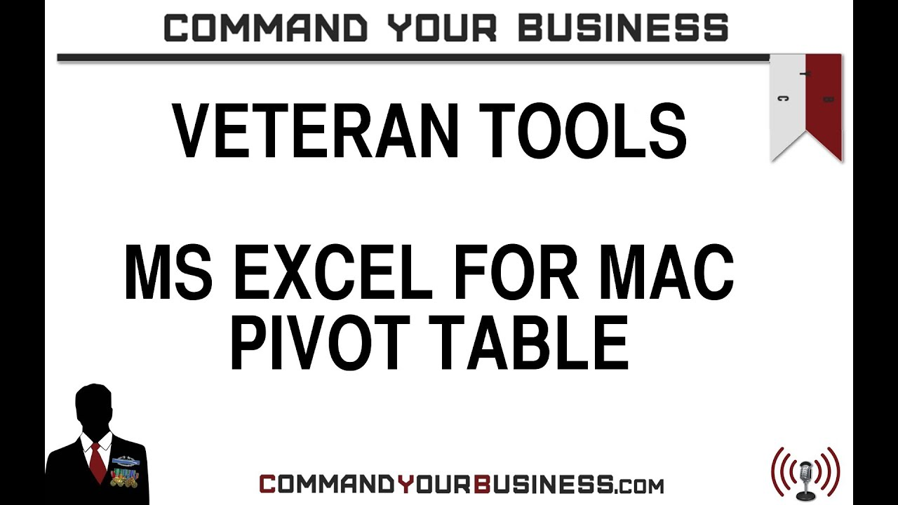Excel For Mac Pivot Table Disappears