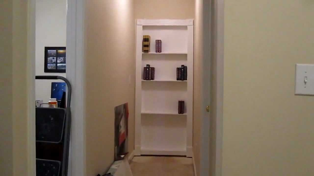 My DIY hidden door - YouTube
