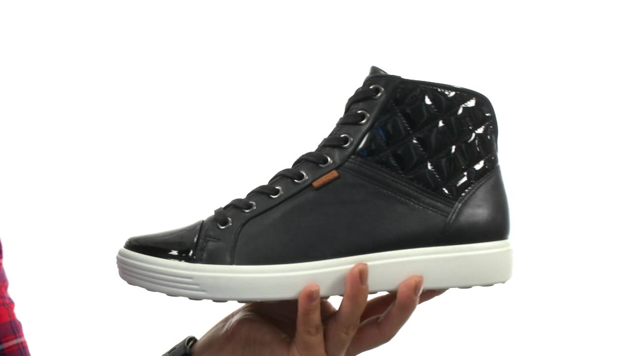 751700039c ECCO Soft 7 Quilted High Top SKU:8680713