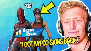 Tf∪ℯ GETS HIS *OG* FAVOURITE SKIN & RED KNIGHT FORTNITE ITEM SHOP REACTION | Fortnite Funny Moments