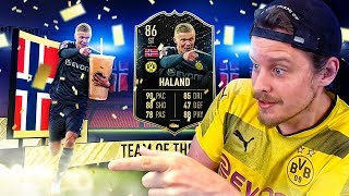 THIS CARD IS EXTINCT! 86 INFORM ERLING HALAND PLAYER REVIEW! FIFA 20 Ultimate Team