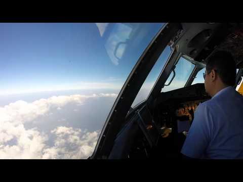 Wings Air ATR 72-500 Flight From Fak-Fak(FKQ) to Sorong(SOQ) Cockpit View