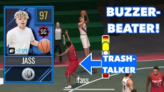 97 OVR INFLUENCER TRISTAN JASS GAMEPLAY IN NBA LIVE MOBILE 20!