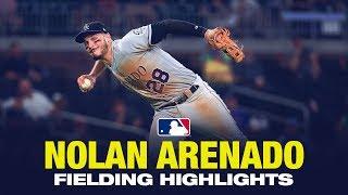 Nolan Arenado - Awesome Fielding Highlights 2019