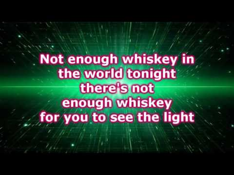 Kiefer Sutherland -  Not Enough Whiskey (Lyrics)