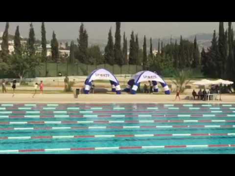 Lebanese Swimming Championships 2016 ... 50m free Mohamed Boksmati