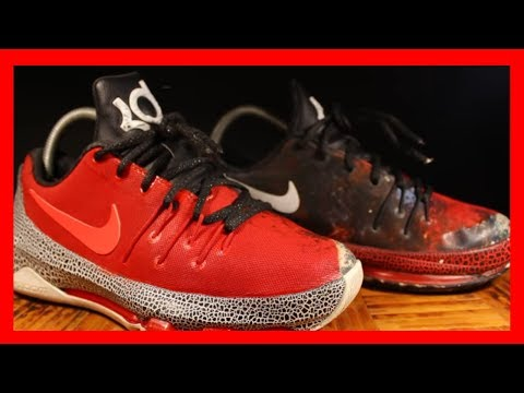Custom KD 8 | Custom Shoes | Custom Kevin Durant Shoes | How To Paint Fabric Shoes
