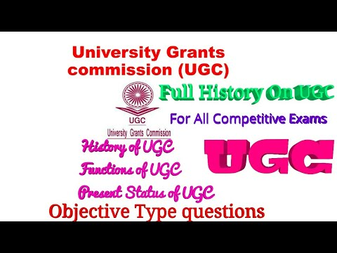 About UGC: University Grants Commission and it's Functions/What is UGC ?/Functions and roles of UGC