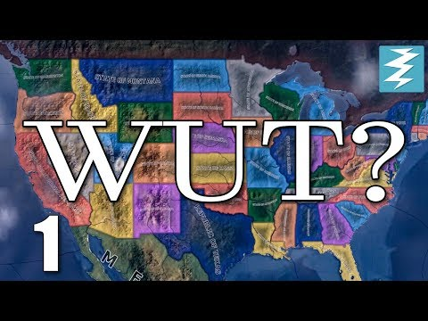TRUMP WINS 2016 ELECTION FALLOUT [1] USA Divided - Hearts of Iron 4 HOI4 Paradox Interactive