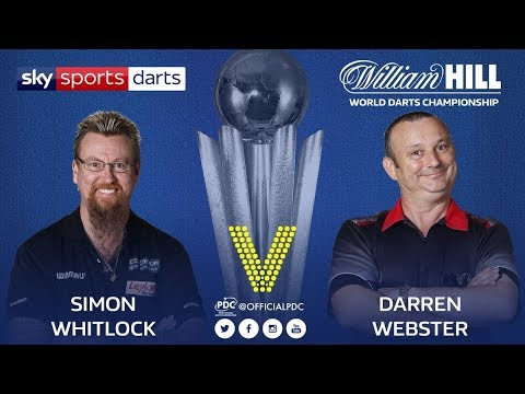 2018 World Darts Championship Round 2 Whitlock vs D.Webster