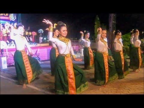 Traditional dance of thailand - Thai dance in nakhon phanom , Thailand