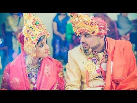 RANG DEY || STRANGERS TO SOULMATES || Sidharth & Swarnalata || Best Wedding Highlight