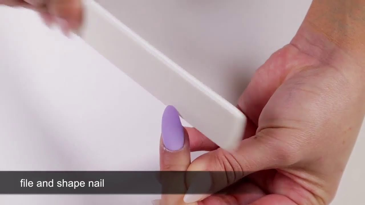 Dip Powder Nails: How to do a Fill - YouTube