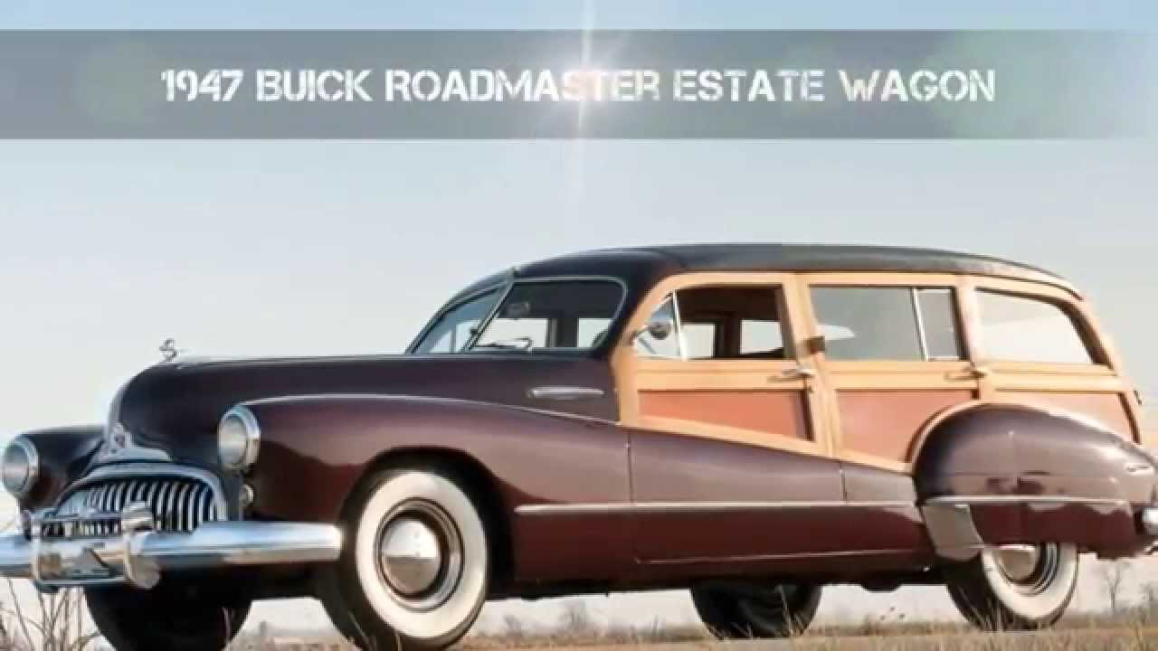 1947 buick roadmaster estate wagon youtube. Black Bedroom Furniture Sets. Home Design Ideas