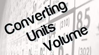 Converting units (volume)