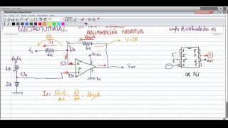 ElectroTutorial 129 Op-Amp AO / Realimentación negativa