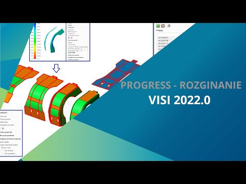 VISI 2022.0 | PROGRESS - Rozginanie - Tutorial