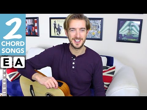 Play TEN Guitar Songs With Two EASY Chords
