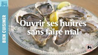 Ouvrir ses huîtres sans faire mal