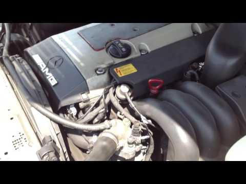 В продаже двигатель + акпп на Mercedes-Benz C36AMG W202