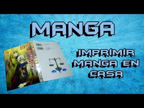 Como Imprimir Manga en casa (Estilo Oriental)