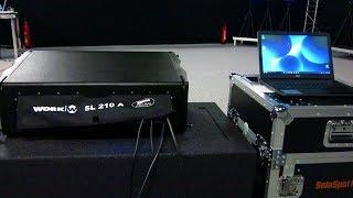 LINE ARRAY - CONTROL REMOTO desde un portátil a través de ETHERNET y el PROTOCOLO IP