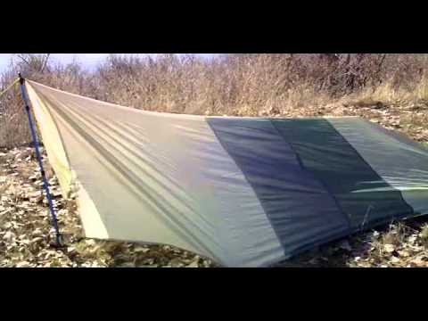 Diy Tarp With Zip Doors It S A Tarp And A Tent All In