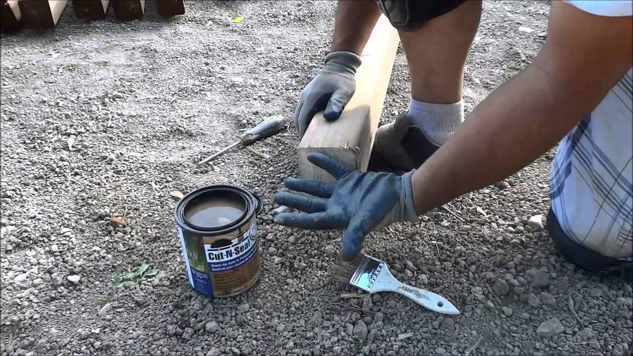 How To Seal Cut Ends Of Pressure Treated Lumber