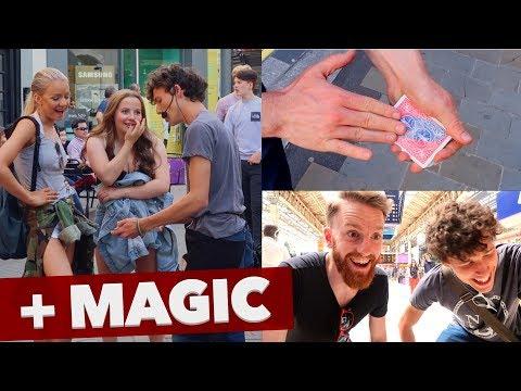 Teaching How To Street Perform + Magic