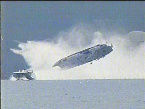 Offshore Powerboat backflips in Austria 2003