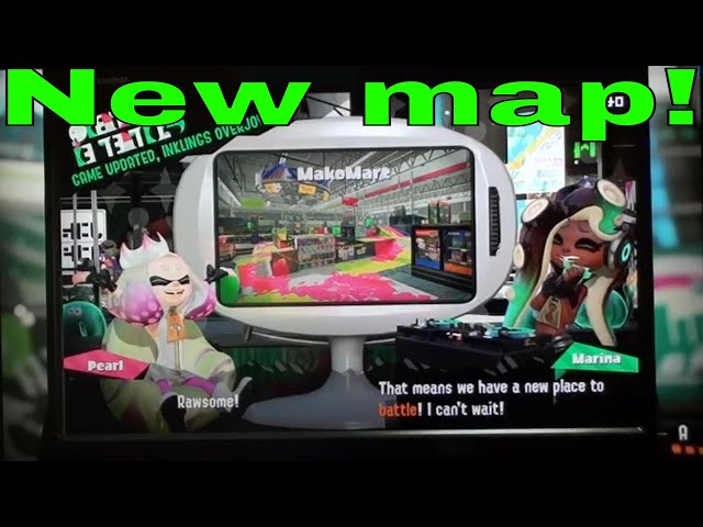 Splatoon 2-New map,weapon and new changes.