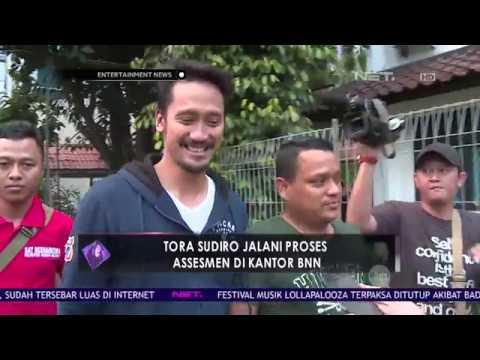 Tora Sudiro Jalani Proses Assesmen di Kantor BNN
