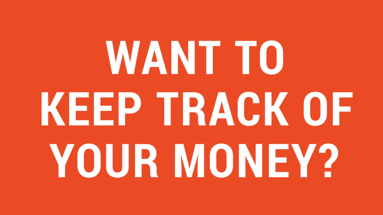 tip 101 keeping track of your money youtube