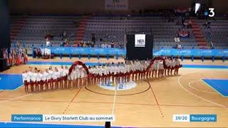Les filles du Givry Starlett Club championnes d'Europe de pompons
