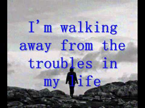 I'm Walking Away by Craig David - lyrics on screen -