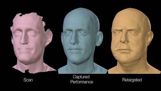 FLAME: Learned face model from 4D scans (SIGGRAPH Asia, 2017)