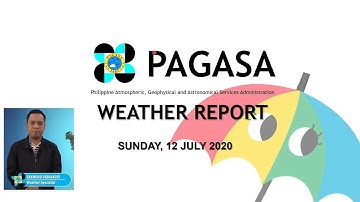 Public Weather Forecast Issued at 4:00 PM July 12, 2020