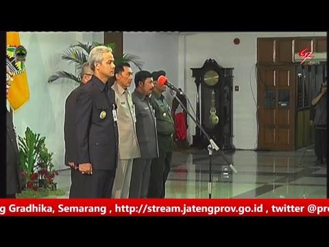 Upacara Pengukuhan Anggota PASKIBRAKA Provinsi Jawa Tengah , 15 Agustus 2017