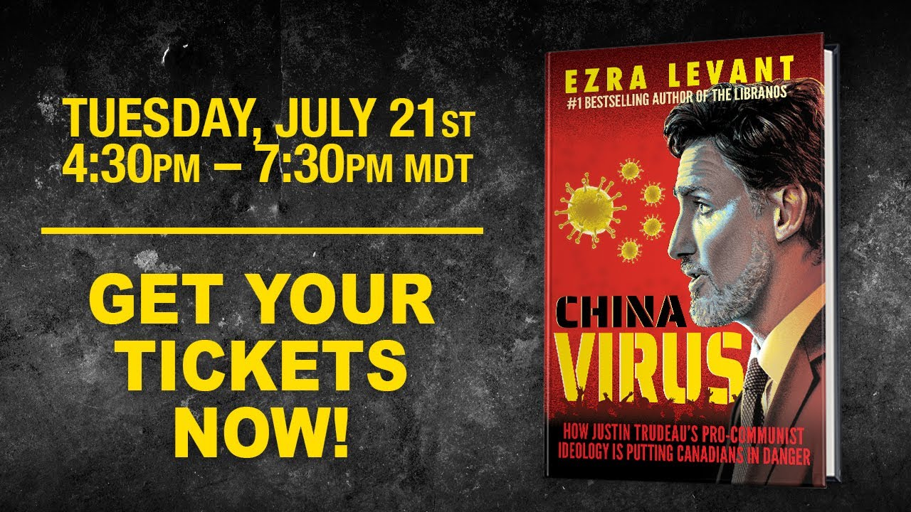 CHINA VIRUS book launch: Meet Ezra Levant in Sherwood Park, Alberta