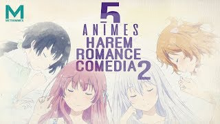5 animes harem de comedia y romance 2