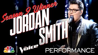 "Season 9 Winner Jordan Smith Performs ""Mary, Did You Know?"" - The Voice 2020"