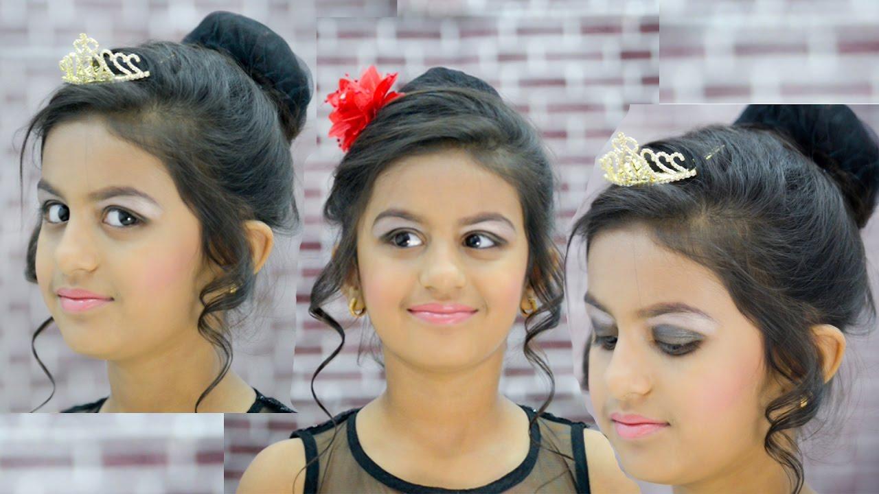 बर्थडे / पार्टी ,बच्चो का प्रिंसेस मेकअप Princess Party Makeup for kids : Simple Easy to do at ...